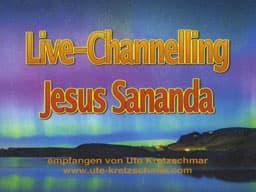 Webinar Live-Channelling Jesus Sananda